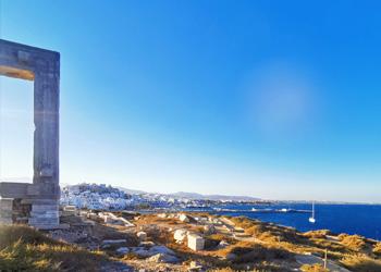 Das Tor von Naxos im Sommer