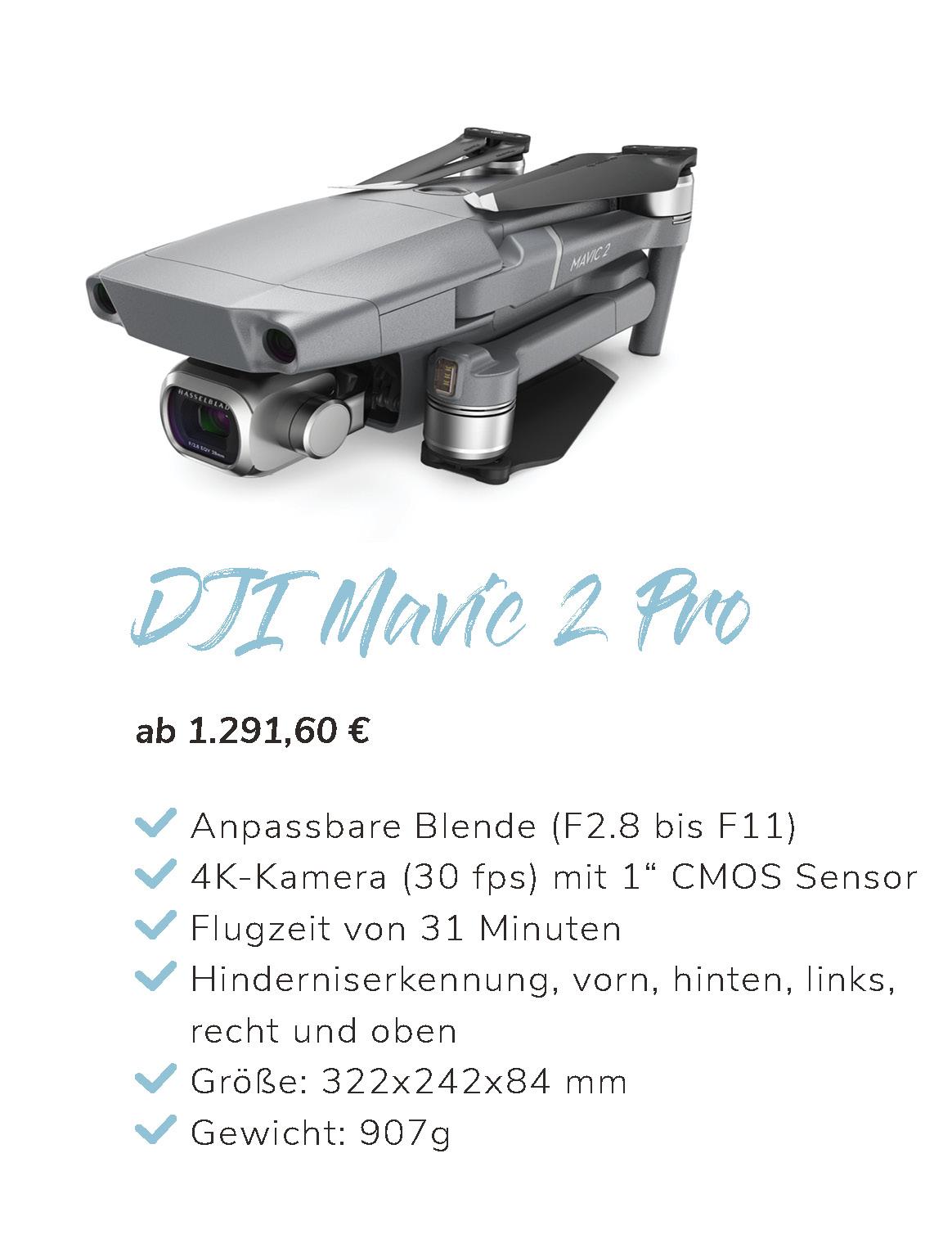 DJI Mavic 2 Pro Übersicht und Eigenschaften